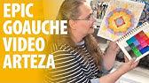 EPIC Arteza GOAUCHE Review &amp REAL-TIME Coloring Demo