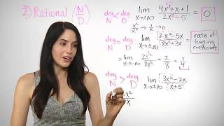 How to Find tнe Limit at Infinity (NancyPi)