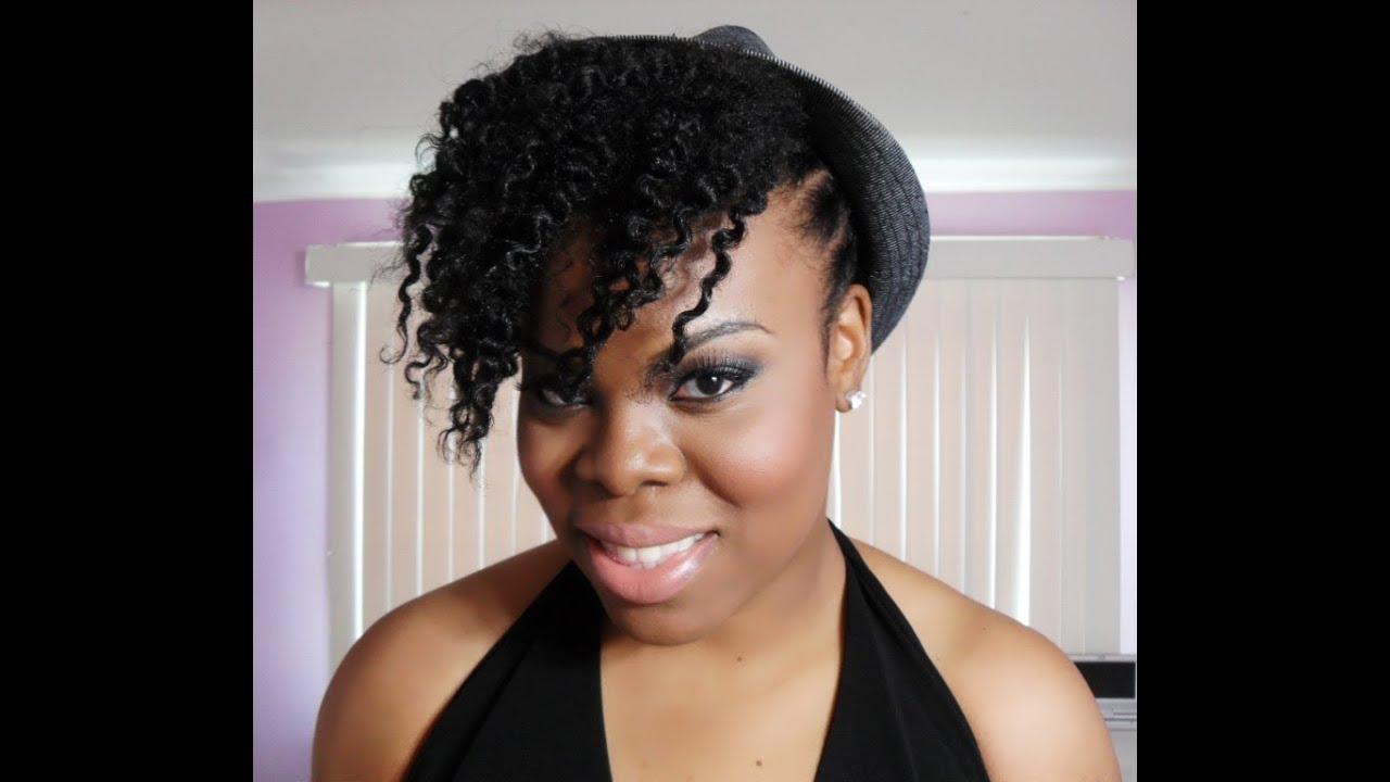 edgy twist natural hair tutorial