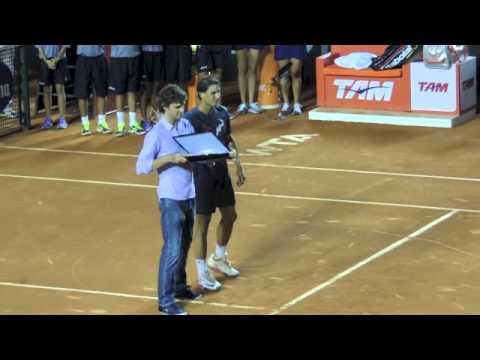 Reis do Saibro: Guga Kuerten e Rafa Nadal no Rio Open