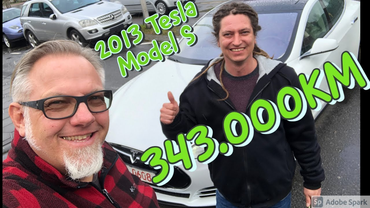 2013 Tesla Model S mit 343.000KM! Noch gut? Kaufberatung
