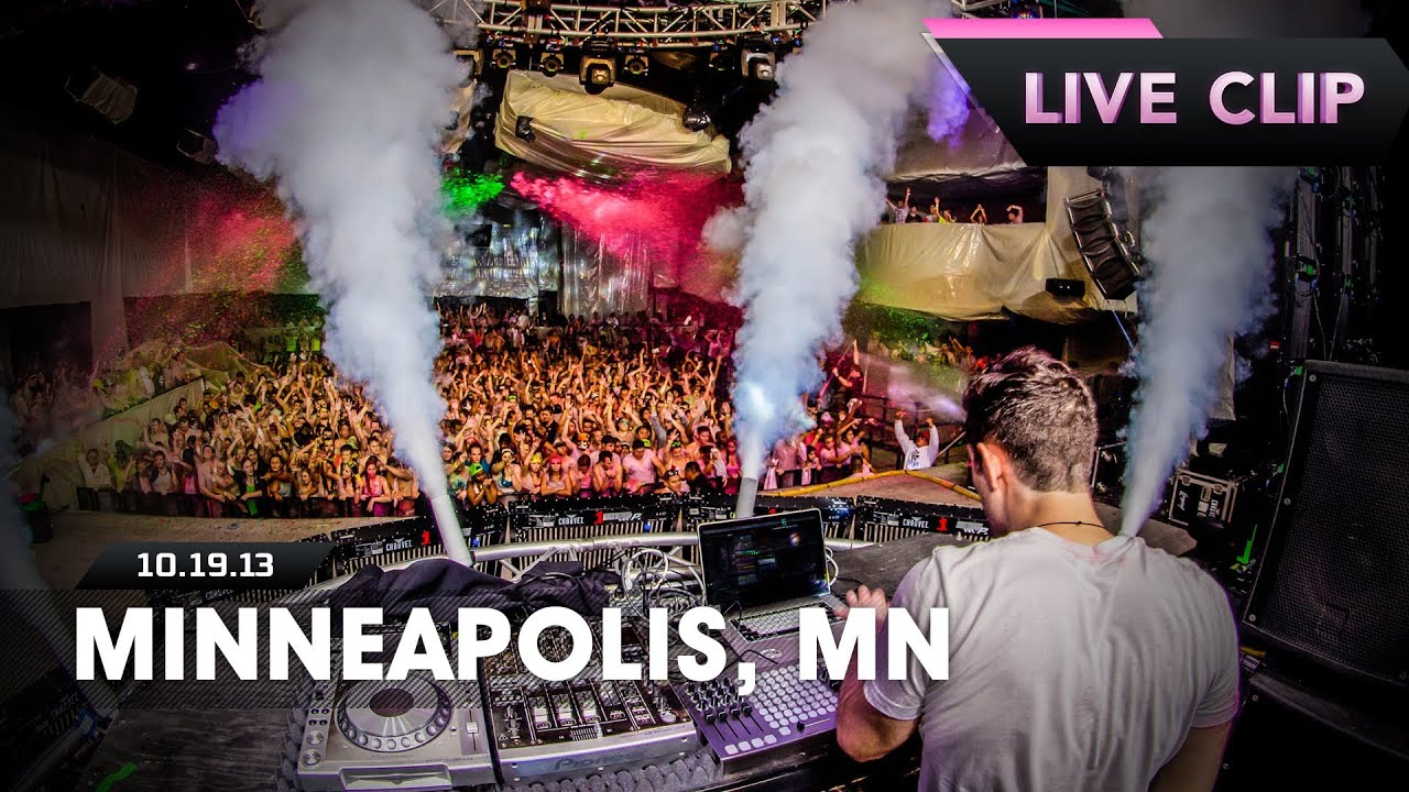 Life In Color Tour Live Clip - Minneapolis, MN - 10/19/13