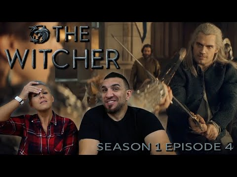 The Witcher Season 1 Episode 4 'Of Banquets, Bastards and Burials' REACTION!! - 동영상