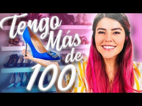 MUESTRO TODOS MIS ZAPATOS! TENGO MAS DE 1OO | LESSLIE POLINESIA MUSAS