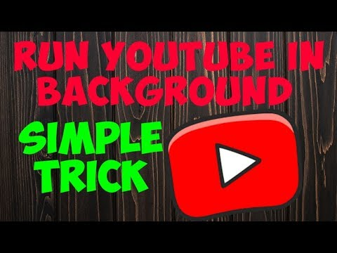Easy Trick to run YouTube in background   Simple Trick   Blinking MIND