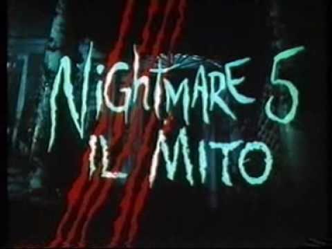 NIGHTMARE 5 - IL MITO (1989) Trailer Cinematografico