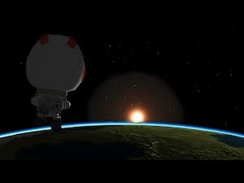 Kerbal Space Program 0.19: Orbit Tutorial w/ MechJeb (Smart A.S.S.) Travel Video