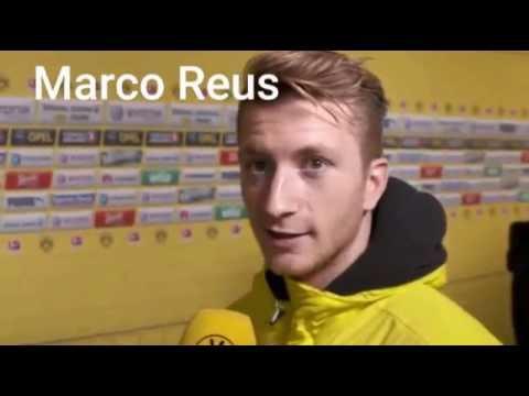 German Footballers Speaking English - Reus, Gotze, Ozil, Muller, Kroos, Hummels...