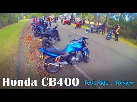 Honda CB400 Super Four 2012 Review