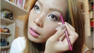 วิธีเขียนคิ้วให้สวยได้รูป How to fill my eyebrow