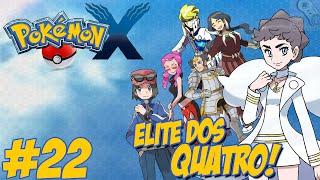 Pokémon X - Nova Jornada #22 / Liga Pokémon / Elite dos Quatro / Um final ESPETACULAR!!
