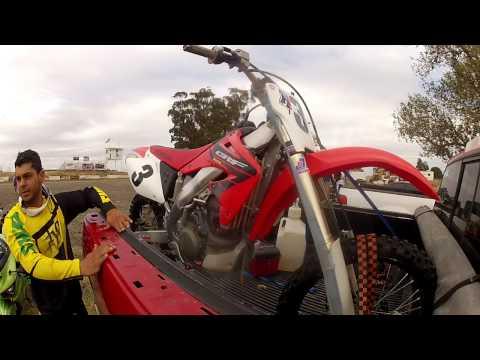 Trackday Motocross - Argyll Mx Park (Dixon-California) Parte 7/7 - CRF450R por $2.400 apenas?