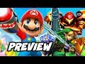 New Super Mario Bros Nintendo Movie Preview - Zelda, Metroid and More Plans