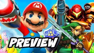 New Super Mario Bros Nintendo Movie Preview - Zelda, Metroid and More Plans