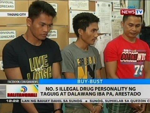 BT: No. 5 illegal drug personality ng Taguig at dalawang iba pa, arestado