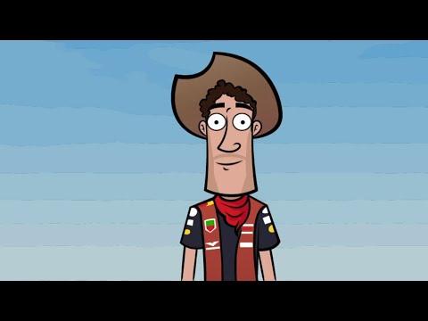 This Cowboy loves Austin! Daniel Ricciardo at the US Grand Prix