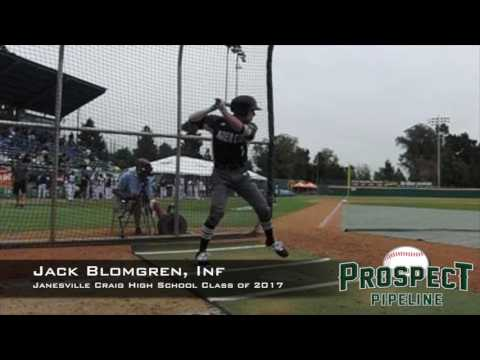 Jack Blomgren, INf, Janesville Craig High School, Swing Mechanics at 200 FPS