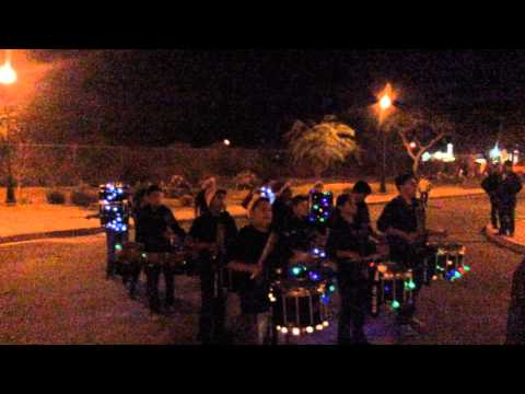 Drumline Performance in Mecca- Bobby duke middle school