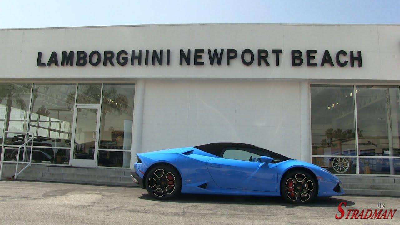 Test Driving The New Lamborghini Huracan Spyder Youtube
