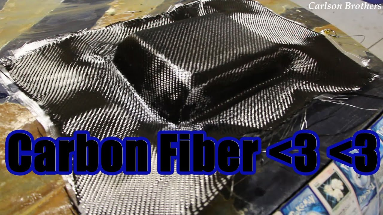 how to make a carbon fiber hood scoop part 4 laying up composites youtube. Black Bedroom Furniture Sets. Home Design Ideas