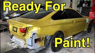 Rebuilding My Wrecked BMW M4 Part 3