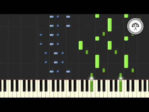 Bastille - Bad Blood Piano Tutorial & Midi Download