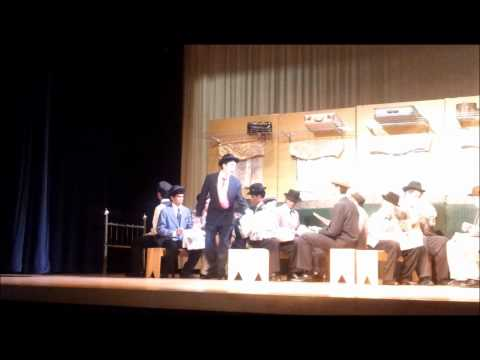 The Music Man -  Train Scene at Spencerville SDA Academy