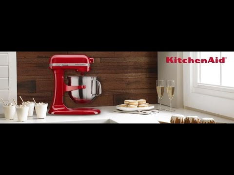 kitchen aid 6000 hd water hose for sink kitchenaid 6 qt professional bowl lift stand mixer empire red youtube