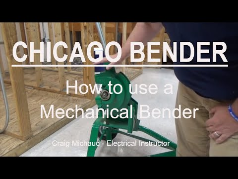 Bending Rigid Conduit With A Chicago Bender, Stub 90