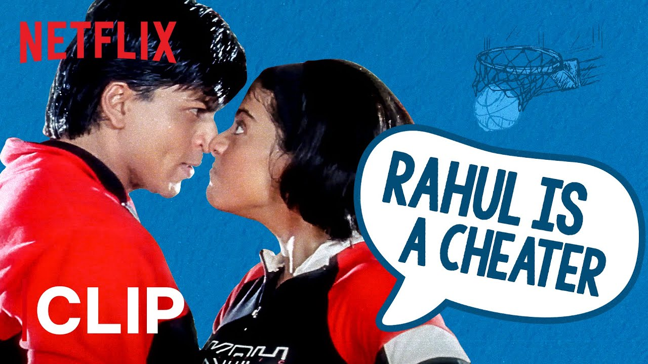 Rahul Is A Cheater | Kuch Kuch Hota Hai | Shah Rukh Khan, Kajol | Netflix India