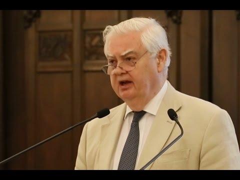 Norman Lamont on the future of EU, Danube Institute 2016 05 27