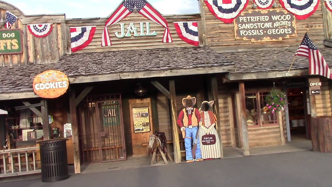 Old Bryce Town Bryce Canyon City Utah Youtube