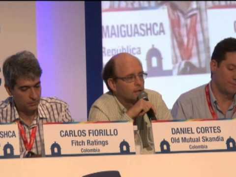 Panel 2, 1ra.Sesión. ¿Cómo se puede desarrollar el Mercado de Riesgo en Colombia?