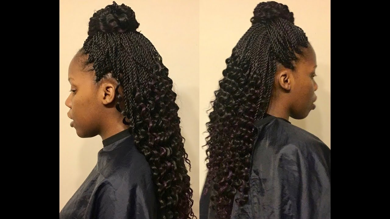 Crochet Hair Pre Curled : TnC - 40 ? Crochet Braids w/ Freetress Braid Pre-Curled Lusty Twist ...