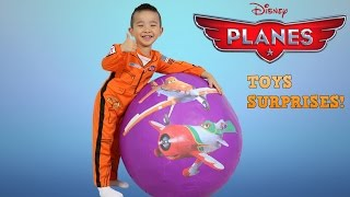 Disney Planes Super Giant Surprise Egg Toys Opening Unboxing Fun With Dusty El Chupacabra Ckn Toys