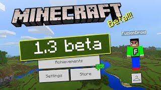 MCPE 1.3 BETA UPDATE!!! - Minecraft Pocket Edition