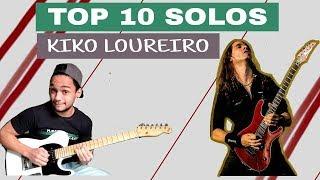 TOP 10 SOLOS KIKO LOUREIRO ( ANGRA / MEGADETH ) SOLOS COVER KIKO LOUREIRO