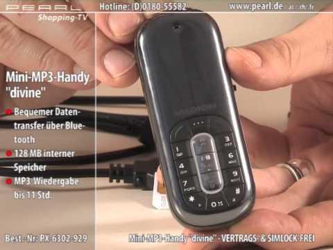 "MEDION Mini-MP3-Handy ""divine"" - VERTRAGS- & SIMLOCK-FREI"
