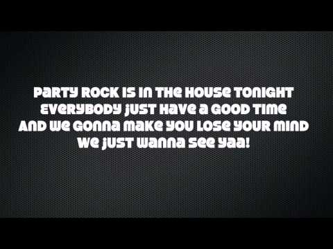 Party Rock Anthem(Every day I'm shuffling!)-LMFAO Lyrics [HD]