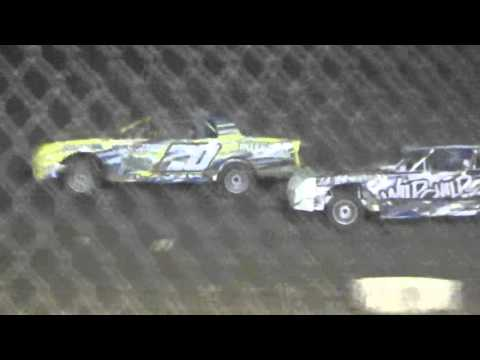 Ark La Tex Speedway factory stock D main 1 part 2 cajun classic