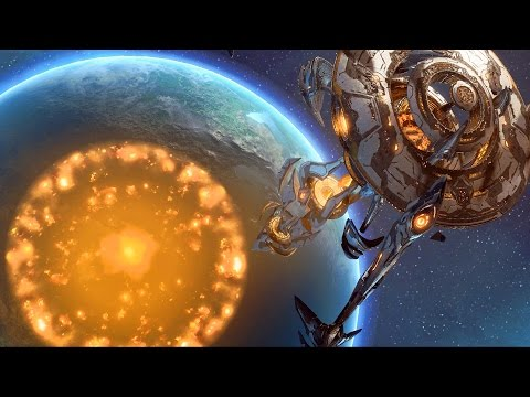 Purification: Artanis Awakens Purifiers on Cybron (Starcraft 2 | Protoss)