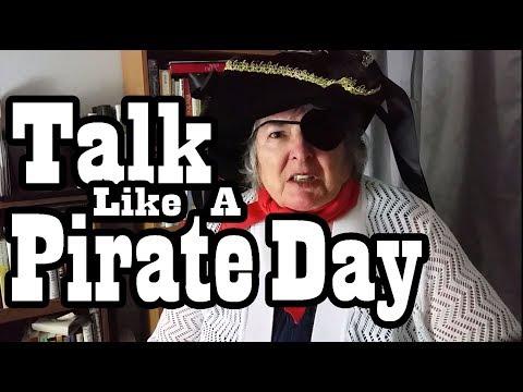 Talk Like A Pirate Day - 2017