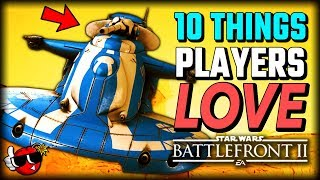10 Things Players LOVE in Capital Supremacy - Star Wars Battlefront 2