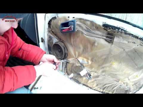 Снятие обшивки двери тойота карина, королла и другие