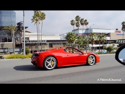 Car Spotting Madness! A Day in Beverly Hills    Ferrari, Lamborghini, Aston Martin