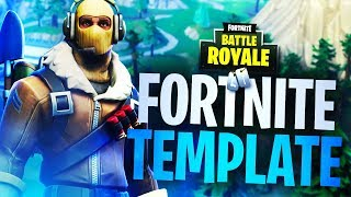 "NEW ""RAPTOR"" SKIN FORTNITE THUMBNAIL TEMPLATE V2! - (Fortnite Thumbnail Template FREE PSD)"