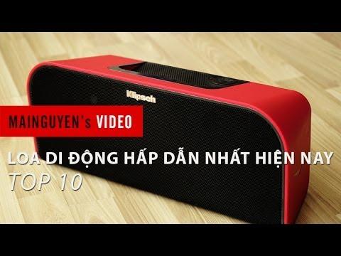 Top 10 loa di động công nghệ hấp dẫn nhất hiện nay – www.mainguyen.vn