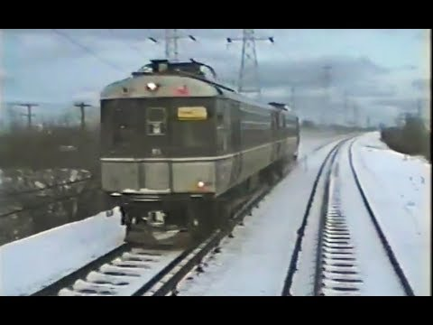 CTA ride  -  Skokie Swift  -  Yellow Line  -  January 8 1993