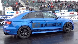 Audi RS3 Saloon 700bhp - 1/4 mile 9.93 @ 144mph