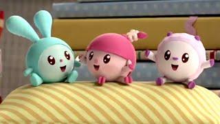 Малышарики - Попрыгушки - 10 серия - обучающие мультфильмы для малышей 0-4
